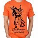 Polyester Men Shivaji Maharaj T Shirt