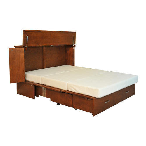 Double Cabinet Bed at Rs 12500 /piece | Double Bed | ID: 15868172112