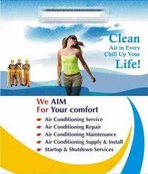 24. Split AC Window Air Conditioner Repair Service, in Gorwa, Capacity: 1.5ton