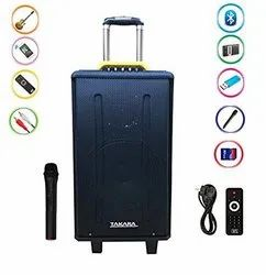 Mic Rechargeable Trolley Speaker With USB Port System