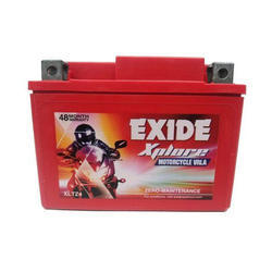 Exide 4 Ah Bike Battery, Voltage: 12 V