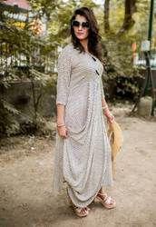 Cotton Designer Dress, Size: M