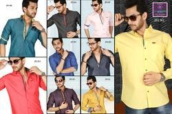 Men's Plain Casual Shirts