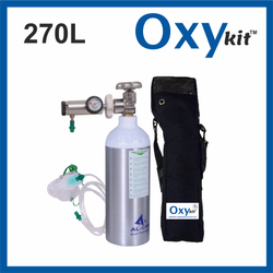 OxyKit Portable Medical Oxygen Cylinders (270 LITERS)