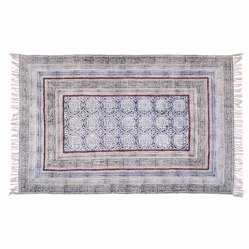 Area Cotton Printed Rug