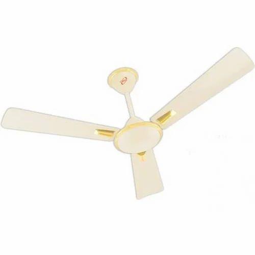 Mild Steel Electricity Orpat Air Flora 3 Blade Ceiling Fan