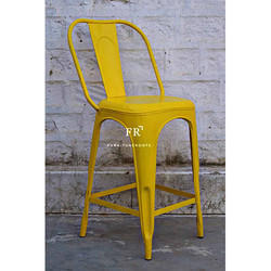 Yellow Color Bar Chair