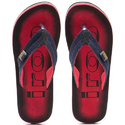 Iroo Men Printed Fabrication Slippers, Size: 9 And 10