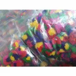 Multicolor Pom Pom Lace
