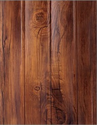 WM-404 Curve Teak PVC Wall Panel