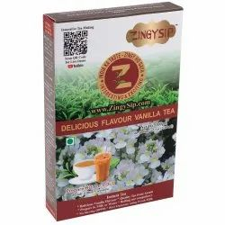 Zingysip Delicious Vanilla Tea (100 gm.) with Vitamin A & D, Packaging Type: Box