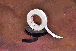 White/Black Cotton Cloth Tapes