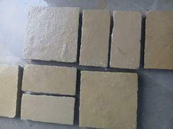 Kota Brown Limestone, Packaging Type: Wooden Crates, for Flooring