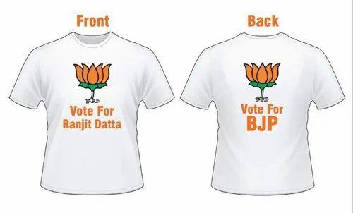 1df2072e Election T Shirts & Caps, BJP Campaign Tshirt, BJP Election T Shirt ...