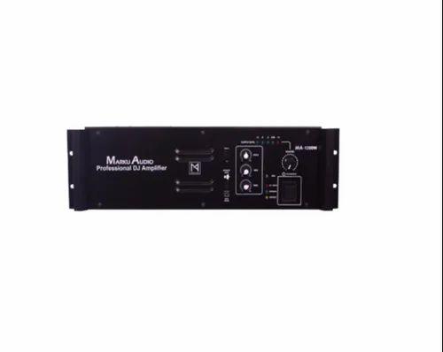 MA-1200W Amplifier, पावर एम्पलीफायर in Delhi , Marku Audio ...