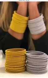 Fashion 2020 Indian Jewelry Gold And Silver Thread Wrapped Silk Thread Bangle Manufacturer