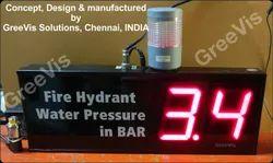 Fire Hydrant Water Pressure Digital Display