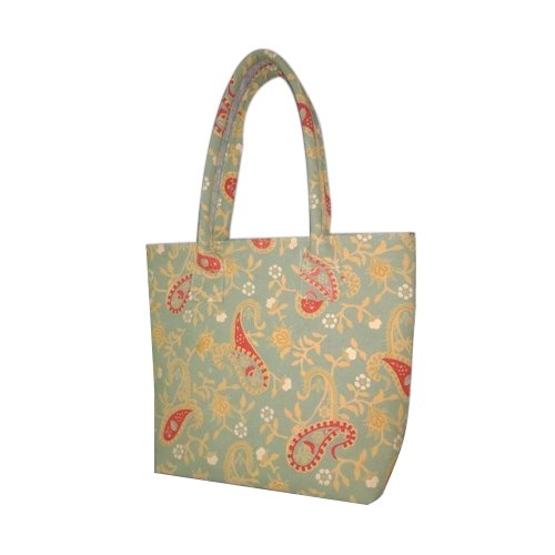 Casual Wear Printed Fabric Handbag