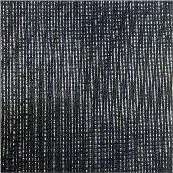Net/Mesh Black Rangoli Fabric, For Garments, GSM: 150-200 GSM