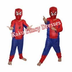 Kaku Fancy Dresses Kids Spiderman Costume