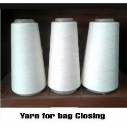 White Polyester Cotton Yarn for Bags Weaving