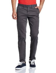Cotton Multicolor Branded Mens Casual Trousers
