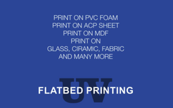 Flatbed Printing Service
