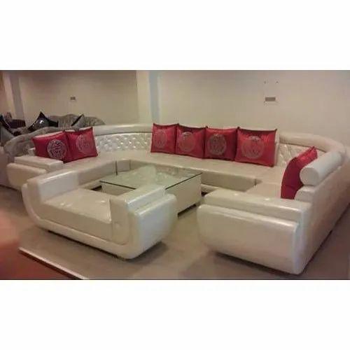 10 Seater U Shape Designer Sofa Set