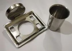 Stainless Steel Queen tumbler holder, Packaging Type: Box Pack