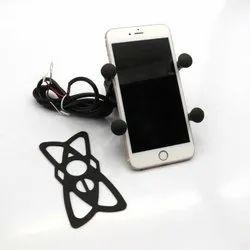 Plastic Black Mobile Phone Holder, Model Name/Number: Bbe543