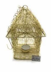 AuraDecor Hut Shape Tealight Holder