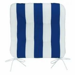 Stripe Out Door Chair Pad