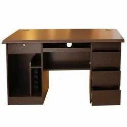 Rectangular Wooden Office Executive Table, Size: 4-5 Feet
