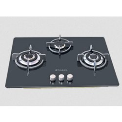 Faber GB 723 MT 2TR Three Burner Gas Stove, Packaging Type: Box