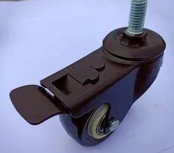 2 Inch Single Wheel Thread Type Castor
