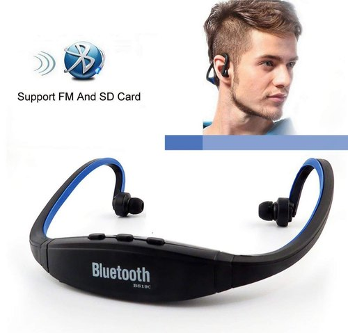 Fleejost Bs19c Bluetooth On Ear Sports Headphones With Sd Card Fm Support For Android Ios Devices ब ल ट थ ह डस ट Ld Retail India Bhiwadi Id 20972173688