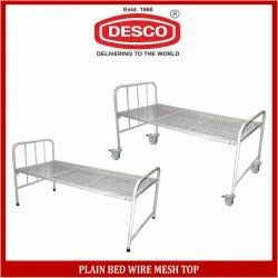 Plain Bed Wire Mesh Top, for Hospital, Mild Steel