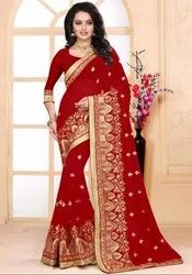 Ravishing Red Bridal Saree