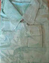 Male Bhagalpuri Cotton Plain Shirts