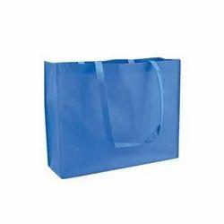 Blue Shopping Bags Non Woven Laminated Bag, Capacity: 1-5kg