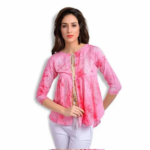 Girls Printed Round Neck Tops, Size Xl, Rs 760 Piece -6200