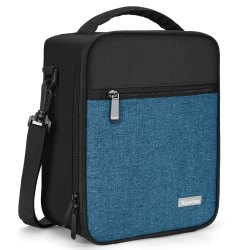 Canvas Plain School Lunch Bag
