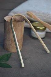 Bamboo Tongue Cleaner ( Handmade) 100% Natural & Organic