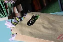 Golden Natural Recyclable D Cut Shopping Bag
