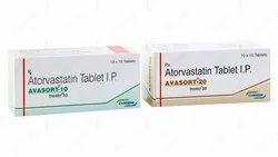 AVASORT-10/20 (Atorvastatin Tablets IP)
