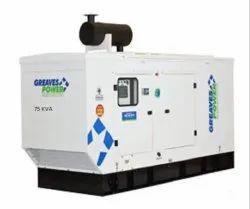 Greaves Diesel Generator - Cotton Dg Set