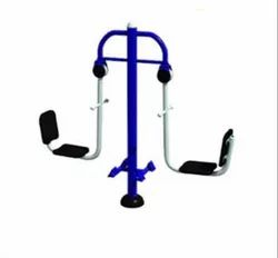 Double Seated Leg Press Outdoor Gym Equipment