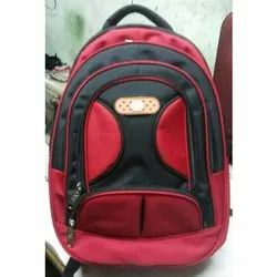Black-Red School Bag