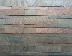 Brown Stone Wall Cladding, Packaging Type: Box, Size: 15x60cm