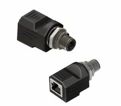 M12 to RJ45 Cat 5a Adapter